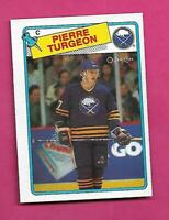 1988-89 OPC # 194 SABRES PIERRE TURGEON ROOKIE NRMT CARD (INV# C9699)