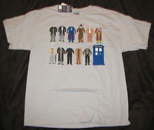 MEDIUM MENS GRAPHIC T-SHIRT DR. WHO TARDIS UNIFORMS OUTFIT COSTUMES TV SHOW BBC!