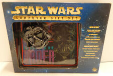 Game Computer PC Seriale MOUSE + TAPPETINO PAD STAR WARS DARTH VADER Dart Fener