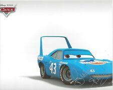 RICHARD PETTY NASCAR signed 8 x 10 Photo Racing CARS Movie DISNEY Pixar THE KING