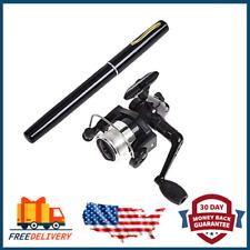 Pen Fishing Pole 38 Inch Mini Pocket Fishing Rod and Reel Combos Travel