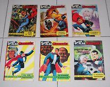 6 Albi MANDAKE SUPER ALBO 94 - 102 - 128 - 132 - 134 - 138 Fratelli Spada 1965
