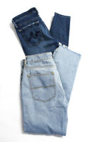 AG Adriano Goldschmied Zara Womens Distressed Denim Jeans Blue Size 26 4 Lot 2