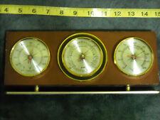Vintage Weather Station  Barometer Thermometer Hygrometer Jason Empire