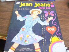 Jean Jeans - Paper Doll - Western Publishing 1975