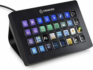 ✳️ NEW & SEALED ✳️ Elgato Stream Deck XL Keypad with 32 Customizable LCD Keys