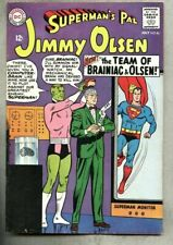 Superman's Pal Jimmy Olsen #86-1965 vg+ Brainiac