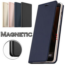 For Samsung Galaxy Note 10 S10 A70 A50 Magnetic Wallet Card Slot Flip Case Cover