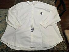 Polo Ralph Lauren Captain Bear Graphic White Button Down Pocket Shirt Mens 5XLT