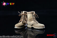 1/6 Scale PLAY TOY PC005-C Combat Boots - Tan