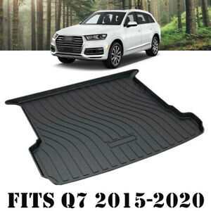 Heavy Duty Trunk Cargo Mat Boot Liner Luggage Tray Fits Audi Q7 SQ7 2015-2021