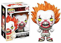 EXCLUSIVE Pennywise with Teeth FUNKO Pop Vinyl NEW in Mint BOX