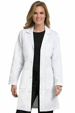 """Med Couture Women's 37"""" Doctor Length Lab Coat - 8608"""