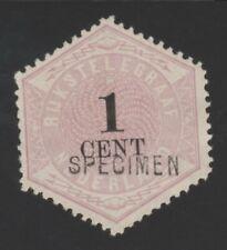 1 c  telegramzegel specimen opdruk TG1.