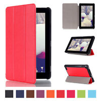 Slim Leather Flip Folio Case Stand Cover fr Amazon Kindle Fire HD 7 2015 Tablet