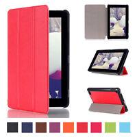 Luxury Leather Slim Magnetic Flip Folio Tablet Case Fr Amazon Kindle Fire 7 2015