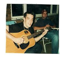 Vintage Photo Handsome Young Man Playing Guitar, 1990's, Apl17