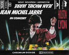Jean Michel Jarre ‎In Concert: Houston Lyon CASSETTE ALBUM Electronic Ambient