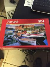 504 pc Puzzle Encore Torri Del Benaco Harbor (Brand New and Sealed)
