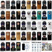 New Animal Styles Pattern Neck Gaiter Tube Wind Protector Face Mask Mask 1PC