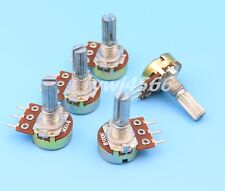10Pcs B100K 100K Ohm Linear Taper MINI Potentiometer Pot 20mm