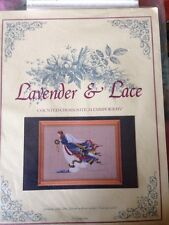 """Lavender & Lace The Second """"Angel of Freedom"""" counted Cross stitch KIT"""