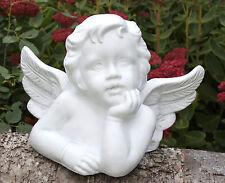 sculpture en pierre statue d'Ange Chérubin Sculpture Décoration Funéraire