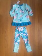 Gymboree Baby Girl 2T Outfit Floral Dress & Legginds NWT
