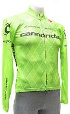 Castelli Cannondale Team Long Sleeve Cycling Jersey Men SMALL Green Road Bike