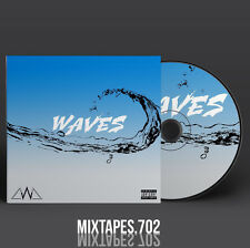 Chanel West Coast - Waves Mixtape (Full Artwork CD Art/Front Cover/Back Cover)