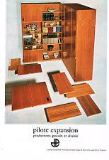PUBLICITE ADVERTISING   1964   PILOTE EXPANSION   production GASCOIN & ALVEOLE