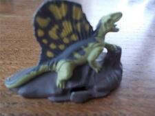 Vintage 1993 Jurassic Park Dimetrodon figura de metal fundido Perfecto Estado