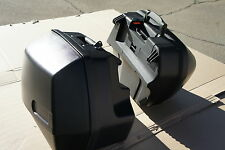 Mutazu Pair of Hard Saddlebags Oil Head For BMW R1100RS R1100RT R1150RS R1150RT