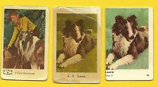 Lassie the Dog Gary Gray TV series Vintage 1960s Cards from Sweden LOT A