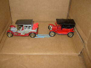 Lesney 1912 Rolls Royce & 1911 Ford Model T, Models/Yesteryear, made in England
