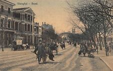 CHINA - RARE! 1900's  The Bund in Shanghai, China