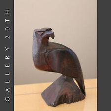 MID CENTURY WOOD EAGLE SCULPTURE! Vtg Raymor Modern Art Deco 1950's Eames Carved