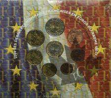 Euro France - Année 2001 - Série de 8 Monnaies Euro BU - (Neuve sous blister)