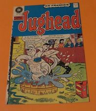 1974 JUGHEAD & HOTDOG  #31 FRENCH EDITION HERITAGE MONTREAL CANADA ARCHIE SERIES