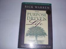 Rick Warren – The Purpose Driven Life Hard Cover Book – Used