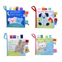 Soft Intelligent Development Cloth Bed Book Educational Toy For Kids Baby G
