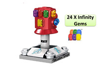 Infinity Gauntlet 24 Stones Lego Fit Avengers End Game Marvel UK Seller CHEAP