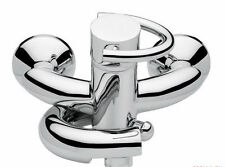 EMMEVI  ITALY  NEW IN BOX  MODERN TWIST SINGLE LEVER BATH MIXER CHROME
