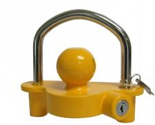 Quality Safe Security Anti Theft Caravan & Trailer Hitch Coupling Tow Ball Lock