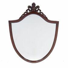 NBR100, Niagara Furniture, Mahogany Carved Shield Mirror