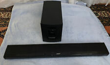 Bose CineMate 1 SR Home Theater Subwoofer w/ Sound Bar ADAPTIQ Bundle