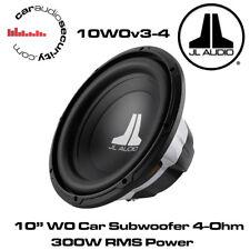"Jl Audio W0 10W0v3-4 10"" pulgadas 250mm 300 Watts 4 ohms coche Subwoofer Sub 10W0"