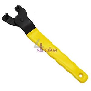 New Adjustable Angle Grinder Key Pin Spanner Plastic Handle Pin Wrench Y type