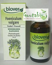Biover - Gouttes de plantes Teintures Fenouil Bio - 50 ml