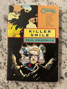 Concrete Killer Smile Paul Chadwick Graphic Novel Comic Book V 4 Dark Horse J592